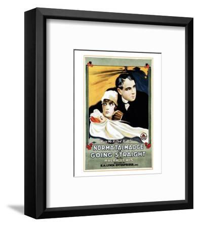 Going Straight - 1916--Framed Giclee Print