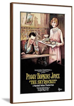 The Skyrocket - 1926--Framed Giclee Print