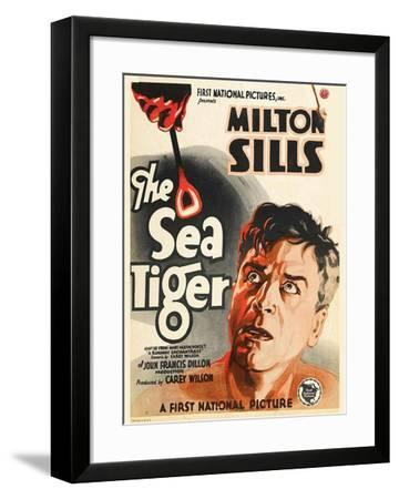 The Sea Tiger - 1927--Framed Giclee Print