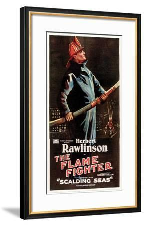 The Flame Fighter - 1925 I--Framed Giclee Print