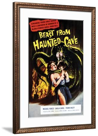 Beast From Haunted Cave - 1960 I--Framed Giclee Print