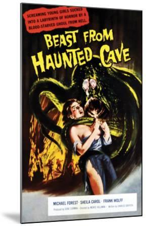Beast From Haunted Cave - 1960 I--Mounted Giclee Print
