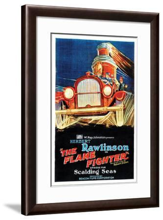 The Flame Fighter - 1925 III--Framed Giclee Print