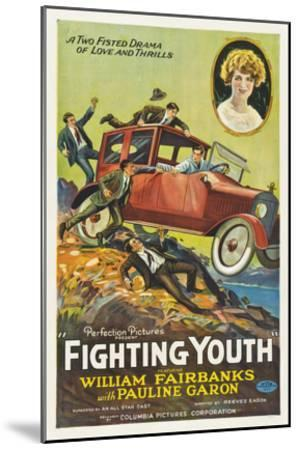 Fighting Youth - 1925--Mounted Giclee Print