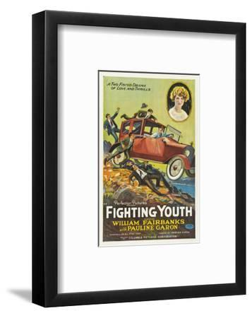 Fighting Youth - 1925--Framed Giclee Print