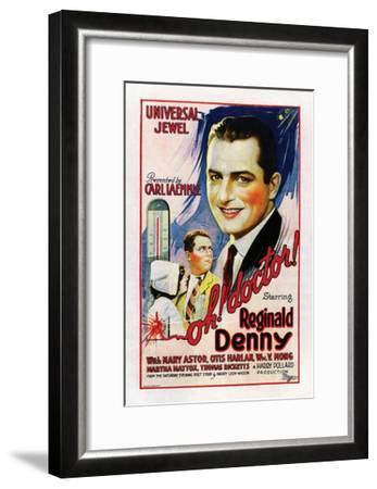 Oh, Doctor! - 1925--Framed Giclee Print