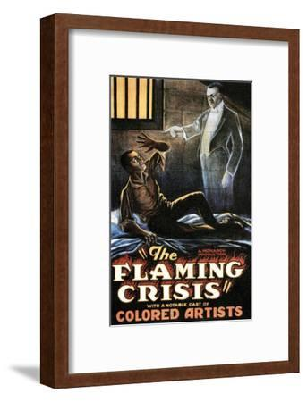 The Flaming Crisis - 1924--Framed Giclee Print