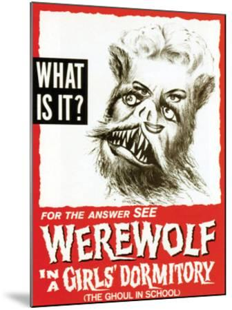 Werewolf In A Girls' Dormitory - 1961--Mounted Giclee Print
