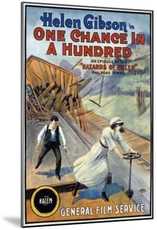 Hazards Of Helen - 1915--Mounted Giclee Print