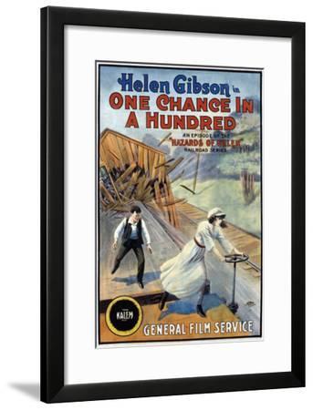 Hazards Of Helen - 1915--Framed Giclee Print