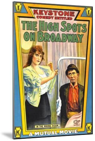 The High Spots On Broadway - 1914--Mounted Giclee Print