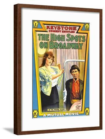The High Spots On Broadway - 1914--Framed Giclee Print