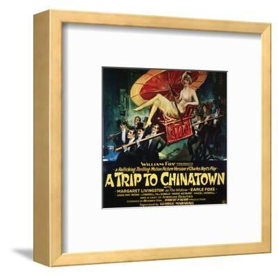 A Trip To Chinatown - 1926--Framed Giclee Print