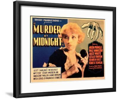 Murder at Midnight - 1931--Framed Giclee Print