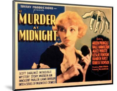 Murder at Midnight - 1931--Mounted Giclee Print