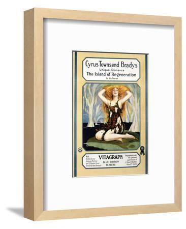 Island Of Regeneration - 1915--Framed Giclee Print