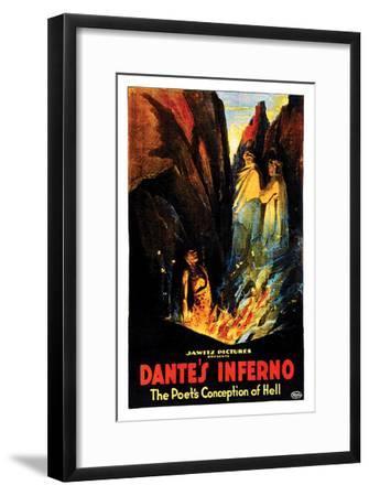 Dante's Inferno - 1922--Framed Giclee Print