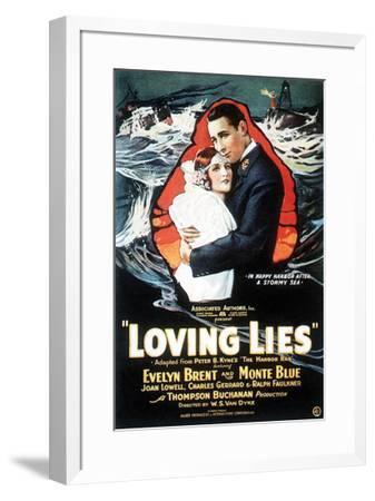 Loving Lies - 1924--Framed Giclee Print