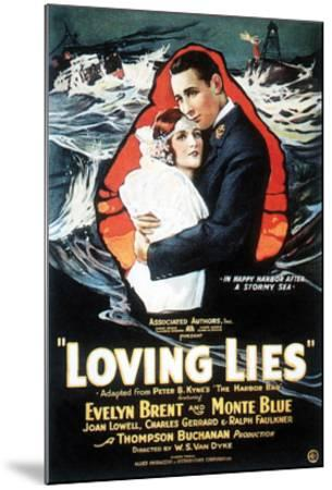 Loving Lies - 1924--Mounted Giclee Print