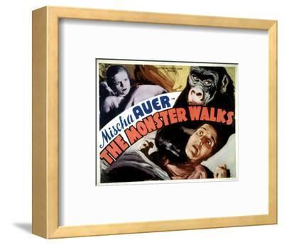 The Monster Walks - 1932 II--Framed Giclee Print
