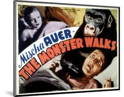 The Monster Walks - 1932 II--Mounted Giclee Print