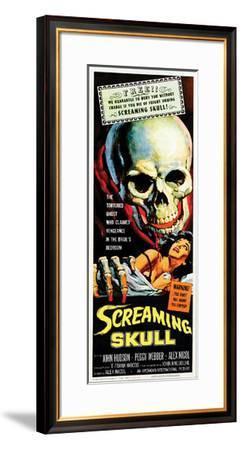 The Screaming Skull - 1958--Framed Giclee Print