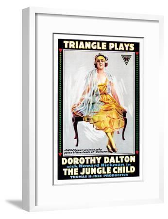 The Jungle Child - 1916--Framed Giclee Print
