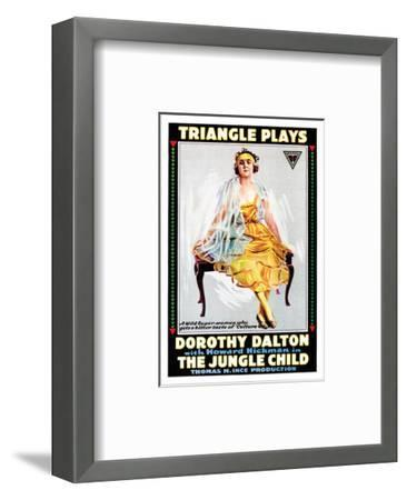 The Jungle Child - 1916--Framed Giclee Print