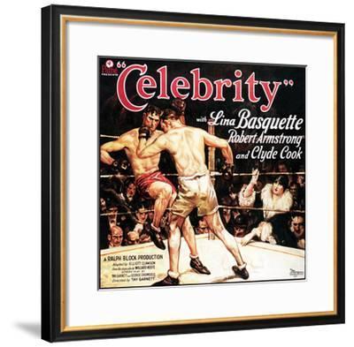 Celebrity - 1928--Framed Giclee Print