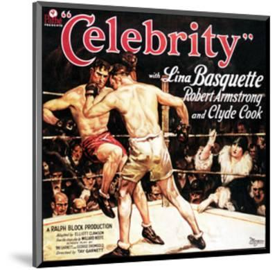 Celebrity - 1928--Mounted Giclee Print