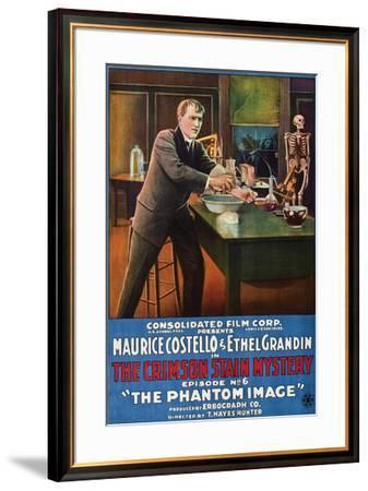 The Crimson Stain Mystery - 1916 II--Framed Giclee Print