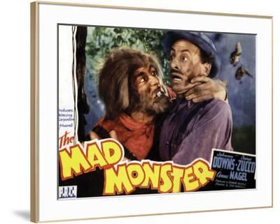 The Mad Monster - 1942 I--Framed Giclee Print
