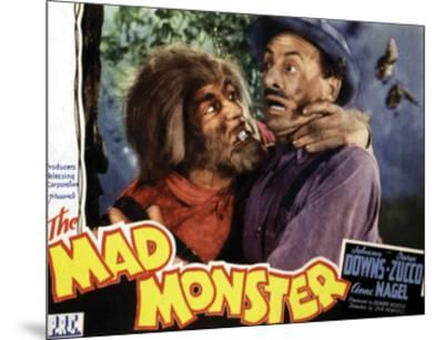 The Mad Monster - 1942 I--Mounted Giclee Print