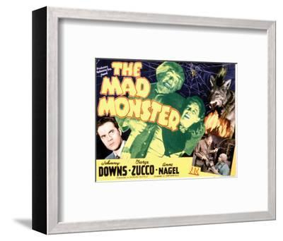 The Mad Monster - 1942 II--Framed Giclee Print