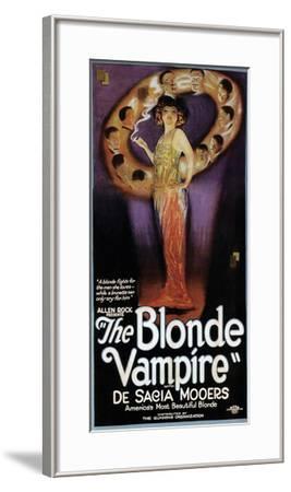The Blonde Vampire - 1922--Framed Giclee Print