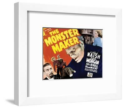 The Monster Maker - 1944--Framed Giclee Print