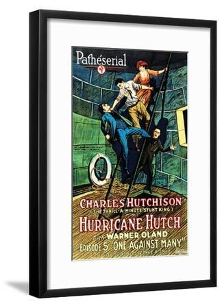 Hurricane Hutch - 1921 III--Framed Giclee Print