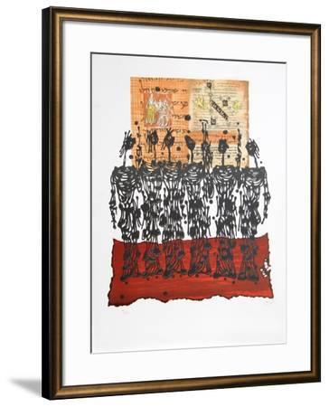El Ritual-Moshe Elazar Castel-Framed Limited Edition