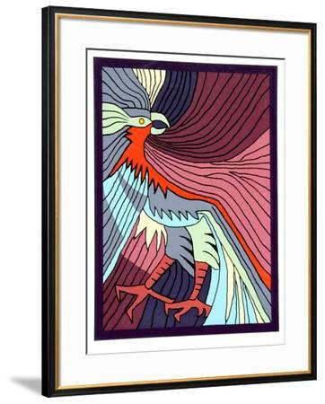 Baby Condor II-Victor Delfin-Framed Collectable Print