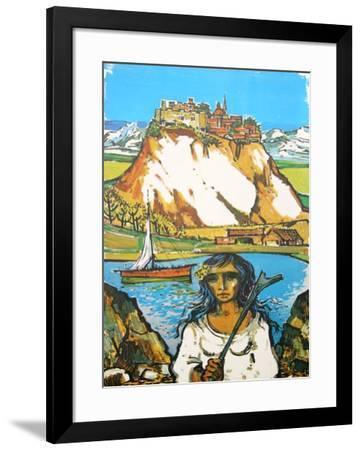 Italian Landscape-Jorge Dumas-Framed Collectable Print