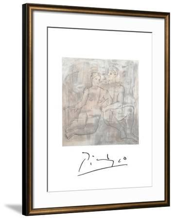 Le Entretien-Pablo Picasso-Framed Collectable Print