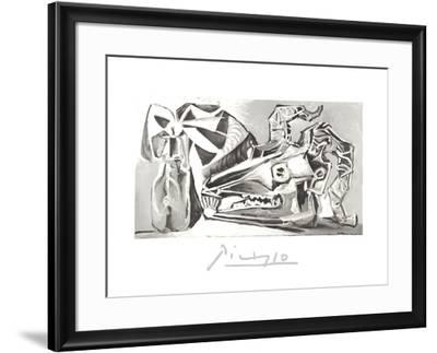 Nature Morte a la Tete Chevre, Boutei-Pablo Picasso-Framed Collectable Print