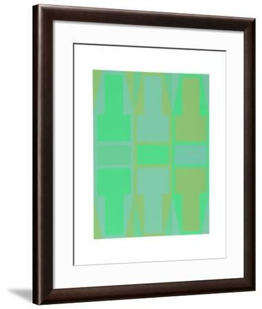 T Series (Green)-Arthur Boden-Framed Collectable Print