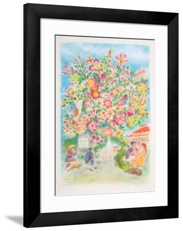 Sacre Couer-Ira Moskowitz-Framed Collectable Print