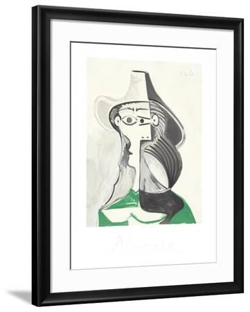 Femme Profile-Pablo Picasso-Framed Collectable Print