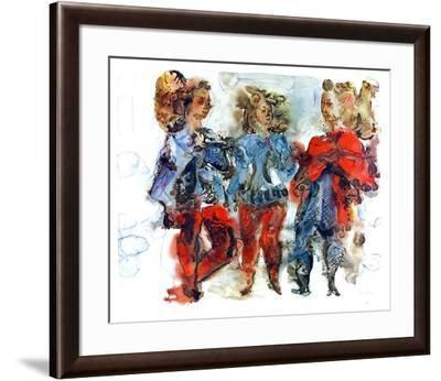 Untitled-Chaim Gross-Framed Limited Edition
