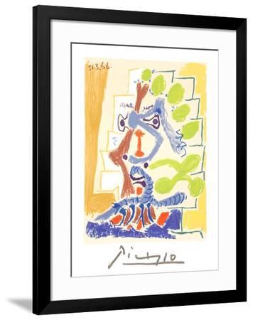 Le Peintre-Pablo Picasso-Framed Collectable Print