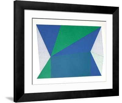 To and Fro-Jean-Marie Haessle-Framed Limited Edition