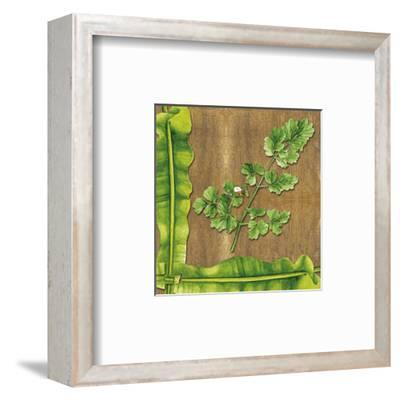 Leaves I--Framed Art Print