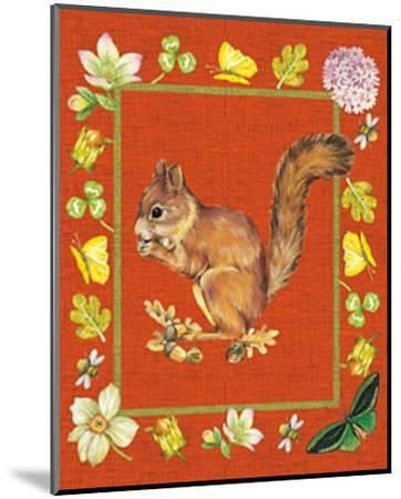 Nice Animals Chipmunks--Mounted Art Print